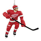 Hallmark Detroit Red Wings Bouncing Buddy Christmas Ornament