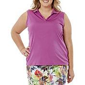 Nancy Lopez Women's Legacy Sleeveless Polo