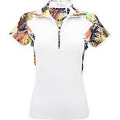 Nancy Lopez Women's Paradise Short Sleeve Polo