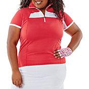 Nancy Lopez Women's Zone Short Sleeve Polo