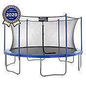 Upper Bounce 16-Foot Round Trampoline Set