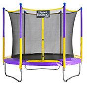 Upper Bounce 9-Foot Round Trampoline Set