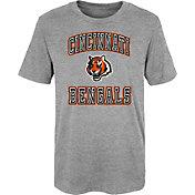 NFL Team Apparel Youth 4-7 Cincinnati Bengals Chiseled T-Shirt