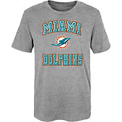 NFL Team Apparel Youth 4-7 Miami Dolphins Chiseled T-Shirt