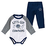 NFL Team Apparel Infant Dallas Cowboys Shirt And Pants Set