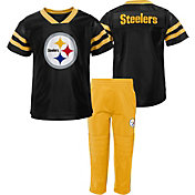 NFL Team Apparel Infant's Pittsburgh Steelers Training Camp Set
