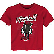 NFL Team Apparel Toddler Tampa Bay Buccaneers Red Team Logo T-Shirt