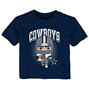 NFL Team Apparel Toddler Dallas Cowboys Player Navy T-Shirt