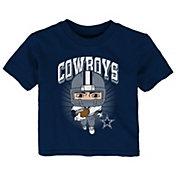 NFL Team Apparel Toddler Dallas Cowboys Player Navy T-Shirt