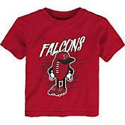 NFL Team Apparel Toddler Atlanta Falcons Red Team Logo T-Shirt