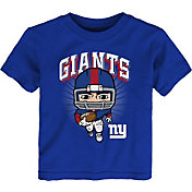 NFL Team Apparel Toddler New York Giants Royal Player T-Shirt