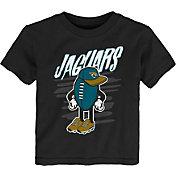 NFL Team Apparel Toddler Jacksonville Jaguars Black Team Logo T-Shirt