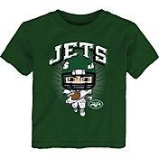 NFL Team Apparel Toddler New York Jets Green Player T-Shirt