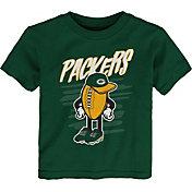 NFL Team Apparel Toddler Green Bay Packers Green Team Logo T-Shirt