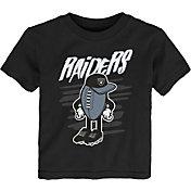 NFL Team Apparel Toddler Las Vegas Raiders Black Team Logo T-Shirt