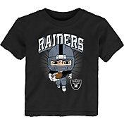 NFL Team Apparel Toddler Las Vegas Raiders Black Player T-Shirt