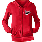 NFL Team Apparel Women's Kansas City Chiefs Red Full-Zip Hoodie