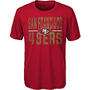 NFL Team Apparel Youth San Francisco 49Ers Red Grand Central T-Shirt