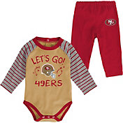 NFL Team Apparel Youth San Francisco 49Ers Long Sleeve Set