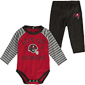 NFL Team Apparel Youth Tampa Bay Buccaneers Long Sleeve Set