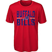 NFL Team Apparel Youth Buffalo Bills Red Grand Central T-Shirt