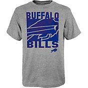 NFL Team Apparel Youth Buffalo Bills Grey Element T-Shirt