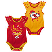 Gen2 Infant Girl Kansas City Chiefs 2-Piece Onesie Set