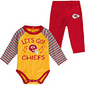 NFL Team Apparel Youth Kansas City Chiefs Long Sleeve Set