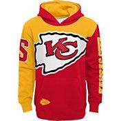 NFL Team Apparel Youth Kansas City Chiefs QB Sneak Pullover Hoodie