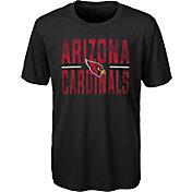 NFL Team Apparel Youth Arizona Cardinals Grand Central Black T-Shirt