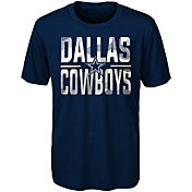 Dallas Cowboys Merchandising Youth Navy Grand Central T-Shirt
