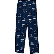 NFL Team Apparel Youth Dallas Cowboys Print Navy Jersey Pants