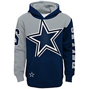 Dallas Cowboys Youth Quarter Block Pullover Hoodie