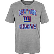 NFL Team Apparel Youth 4-7 New York Giants Chiseled T-Shirt