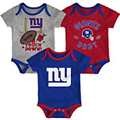 NFL Team Apparel Infant New York Giants 3-Piece Creeper Set