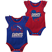 Gen2 Infant Girl New York Giants 2-Piece Onesie Set