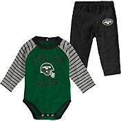 NFL Team Apparel Youth New York Jets Long Sleeve Set