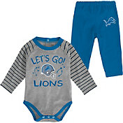 NFL Team Apparel Youth Detroit Lions Long Sleeve Set
