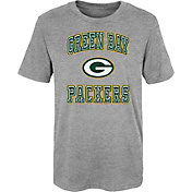 NFL Team Apparel Youth 4-7 Green Bay Packers Chiseled T-Shirt