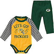 NFL Team Apparel Youth Green Bay Packers Long Sleeve Set