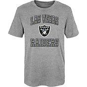 NFL Team Apparel Youth 4-7 Las Vegas Raiders Chiseled T-Shirt