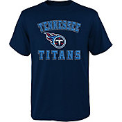Youth X-Large 16 NFL Tennessee Titans Youth Boys Overthrow Pullover Top Dark Navy