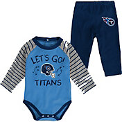 NFL Team Apparel Infant Tennessee Titans Long Sleeve Set