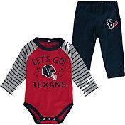 NFL Team Apparel Infant Houston Texans Long Sleeve Set