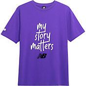 New Balance My Story Matters Graphic T-Shirt