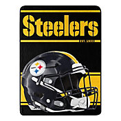 Pittsburgh Steelers 46'' x 30'' Run Micro Raschel