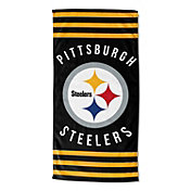 Northwest Pittsburgh Steelers Stripes Beach Towel