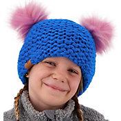 Obermeyer Kids' Glen Faux Fur Pom Pom Beanie