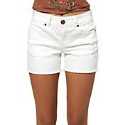 O'Neill Women's Cody White Denim Shorts