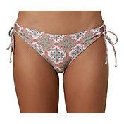 O'Neill Women's Mina Alexa Tile Side Tie Bikini Bottoms